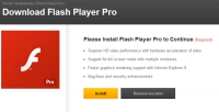 Fake adobe flash player update virus infects computers and phones users